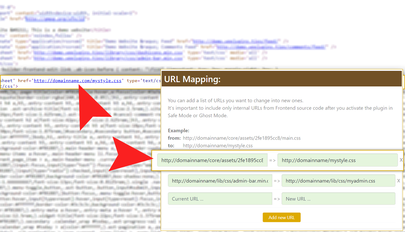 URL Domain Mapping